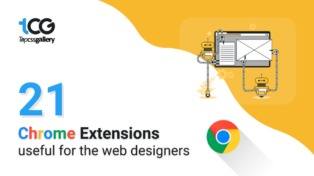 The 21 chrome extensions useful for the web designers