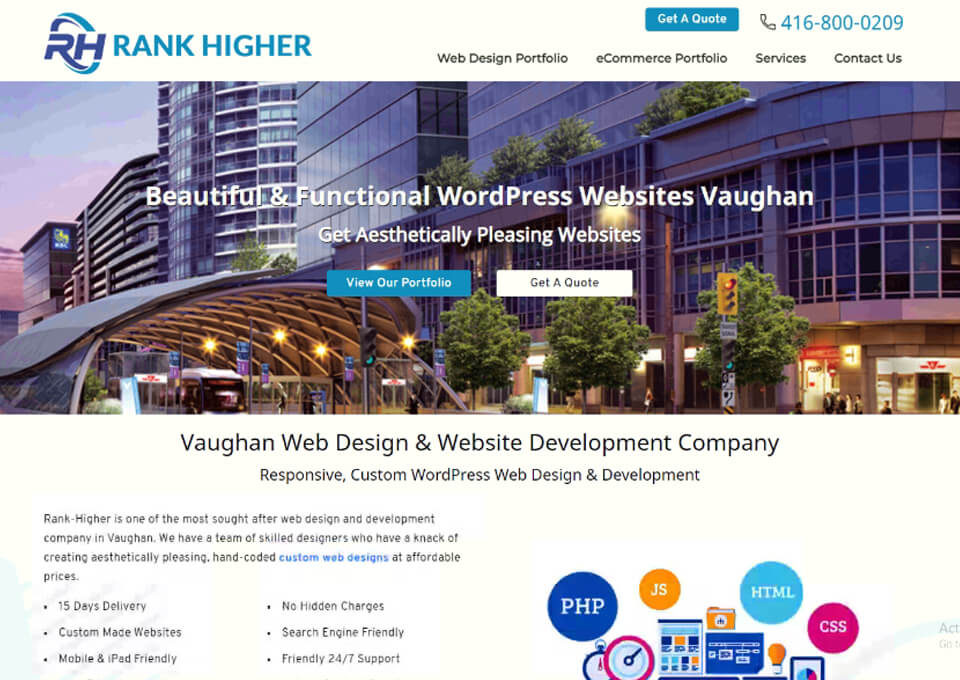 Vaughan Web Design