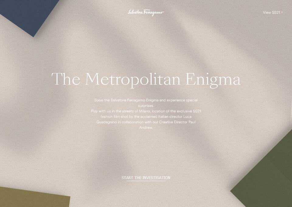The Metropolitan Enigma