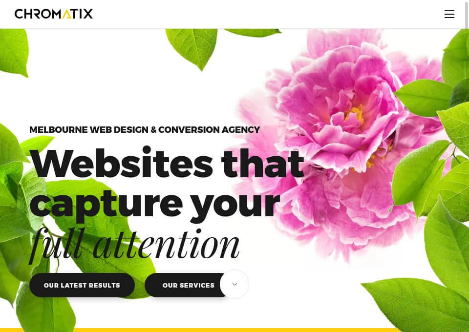 Chromatix Web Design Website