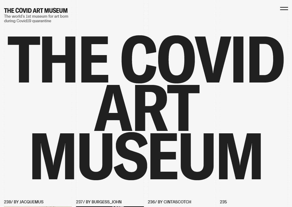The Covid Art Museum