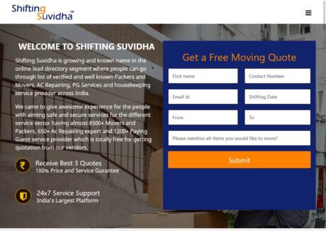 Shifting Suvidha