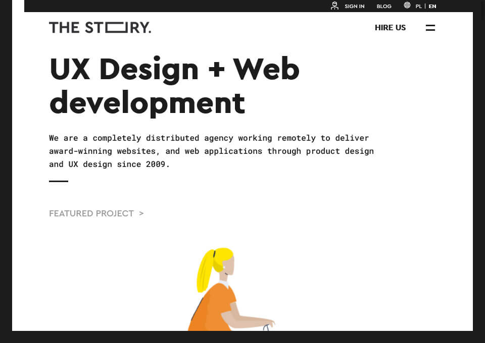 The Story – UX Design Agency
