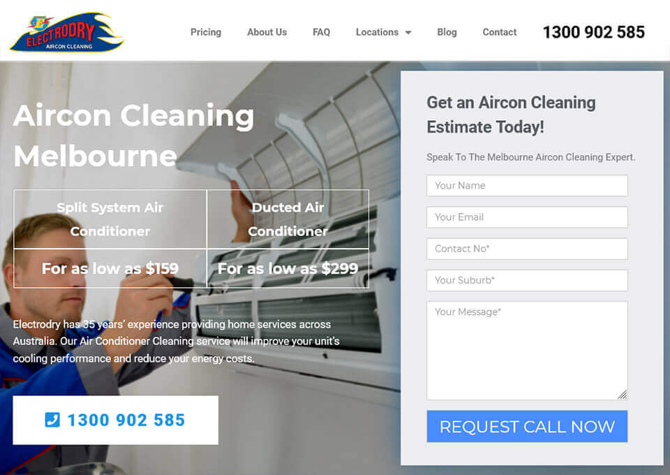 Aircon Cleaning Melbourne
