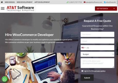AT&T Software Hire Woocomerce developer