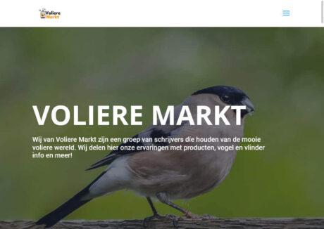 Voliere markt