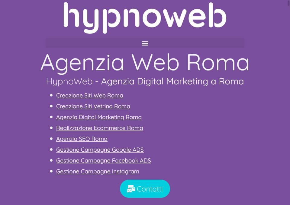 HypnoWeb | Agenzia Web Roma