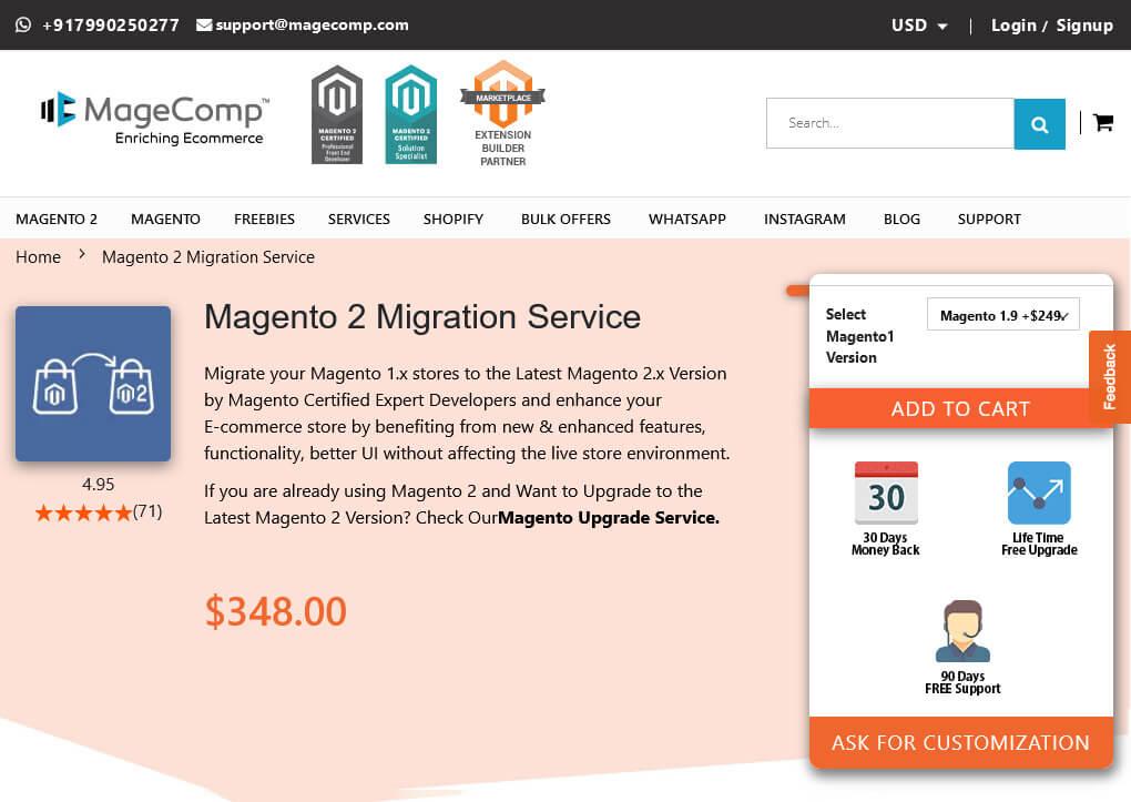 Magento 2 Migration