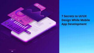 7 Secrets to UI/UX Design While Mobile App Development
