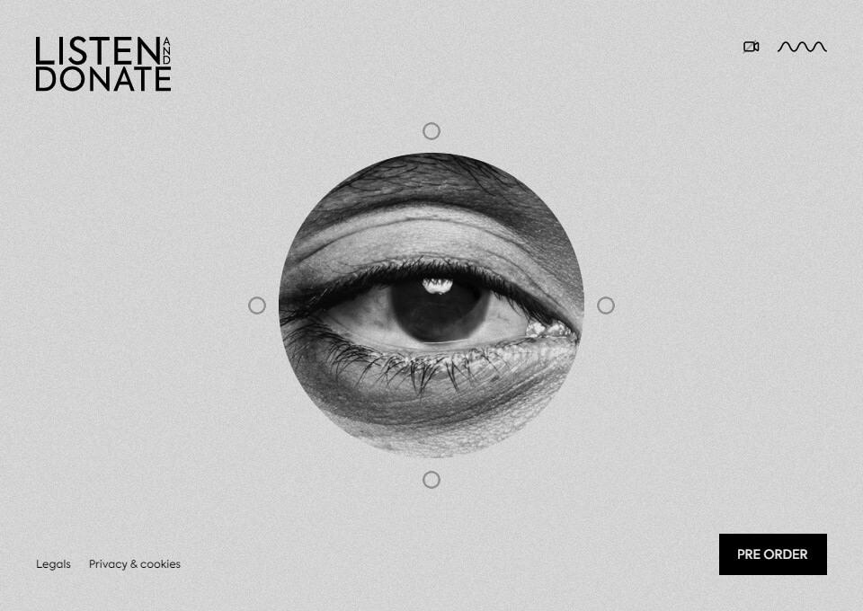 Pone – LISTEN AND DONATE