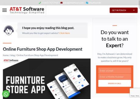 Furniture Shop App Development